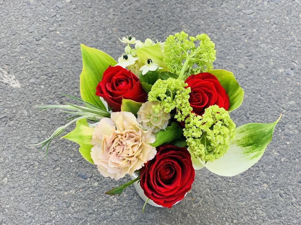 1200円プレミアムプランのお花の例